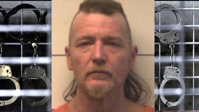 John Wright, 47, of Wright City is accused of carjacking and assaulting an elderly man in O'Fallon, Missouri (Credit: Police)