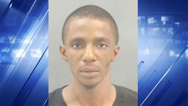 Joshua Polk (pictured) and Wendell Davis face multiple felony counts following an officer-involved shooting on Aug. 31 (St. Louis Metropolitan Police Department)