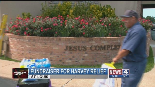 Several churches in the area will be holding a fundraiser this weekend for Hurricane Harvey relief (Credit: KMOV)