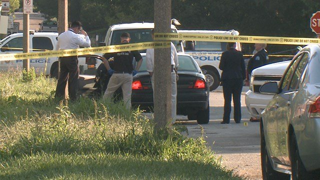 Homicide detectives are investigating after a man was found shot to death in St. Louis on Saturday morning. (KMOV)