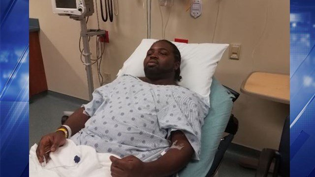 St. Louis area blues singer Marquise Knox was hospitalized after being stabbed. (KMOV)