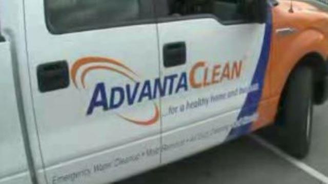 AdvantaClean truck (Credit: KMOV)