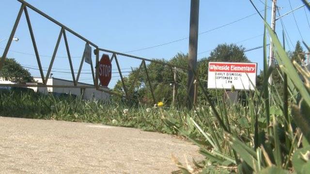 Outside of Whiteside Elementary School (Credit: KMOV)