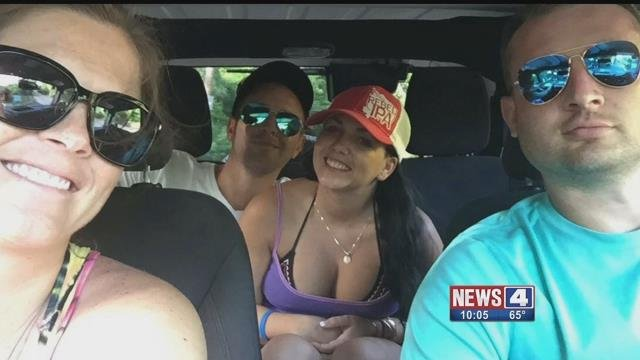 Two sisters and their significant others from Maryville, Illinois have been stuck on St. Thomas for over a week after Hurricane made landfall on Wednesday.