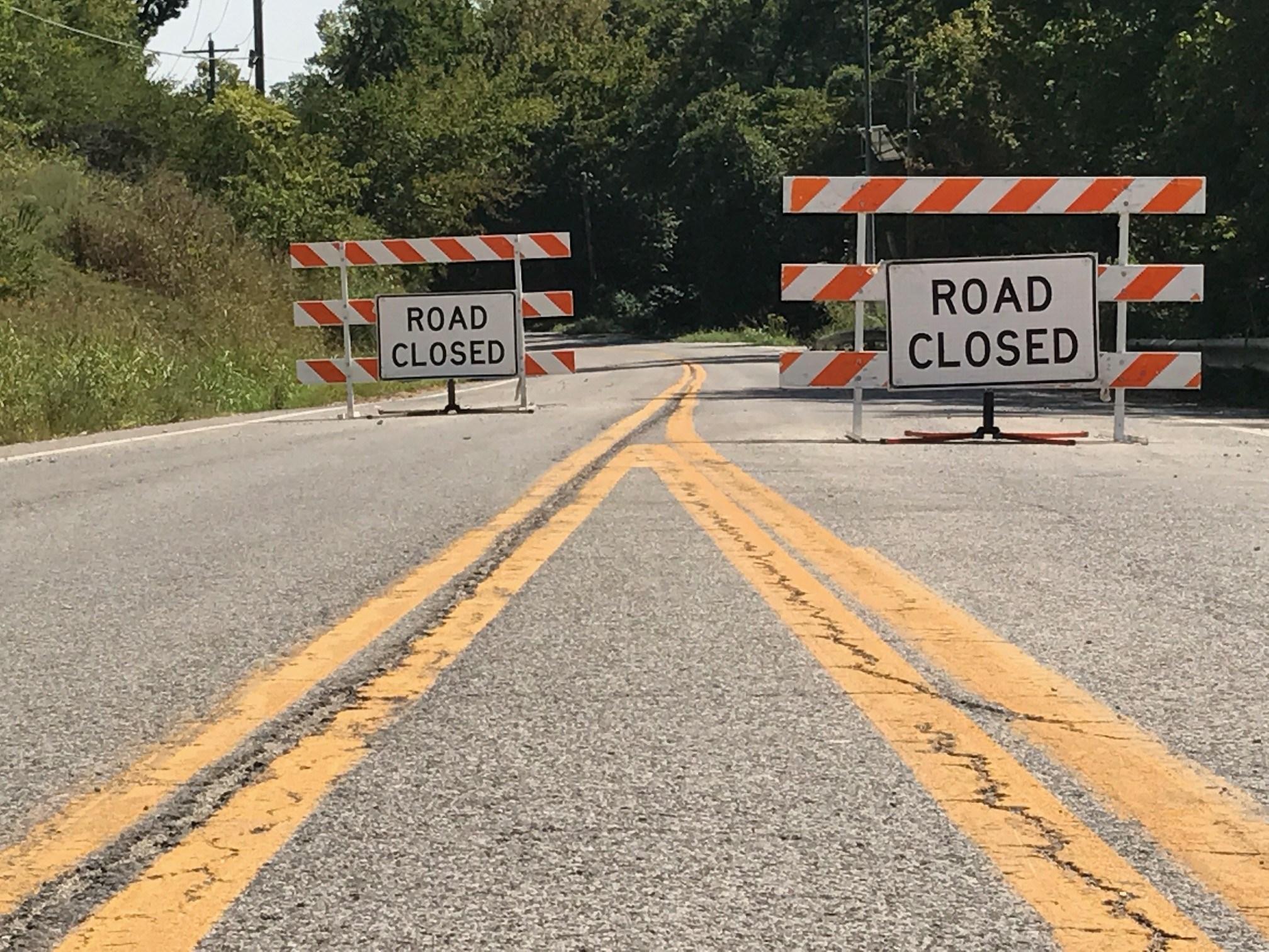 Road closure on Highway M in Barnhart, between I-55 & Highway 61/67.