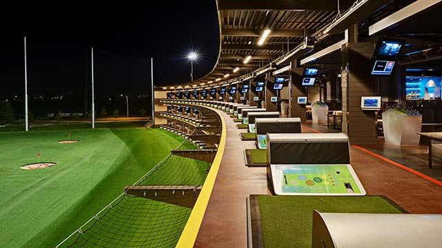The boys at the Austin, Texas Topgolf (Credit: Topgolf)