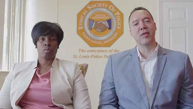 The Ethical Society of Police said in a statement Tuesday that its board believes evidence in the case against Jason Stockley warrants a conviction. But the organization also says it does not condone violence if Stockley is acquitted. Credit: KMOV