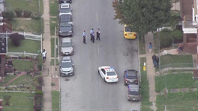 Gun violence in north St. Louis left 2 dead and 3 injured on Tuesday night. (Credit: KMOV)