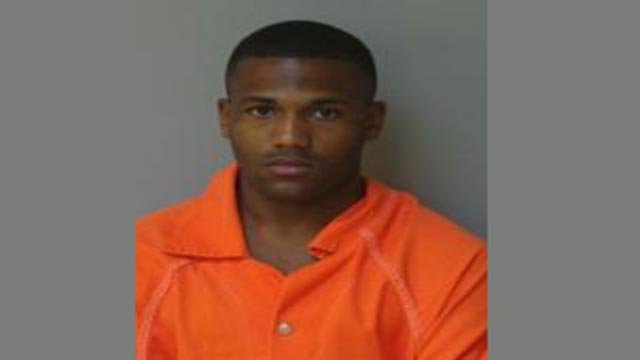 John Collins-Muhammad, 26, was arrested by Florissant police for driving with a suspended license (Credit: Police)