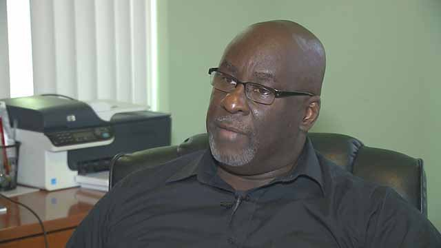 Rev. Clinton Stancil with the Waymen AME Church said many people feel frustrated and do not want to stay silent anymore. Rev. Stancil said while there will be no destruction, there will be disruption.  Credit: KMOV