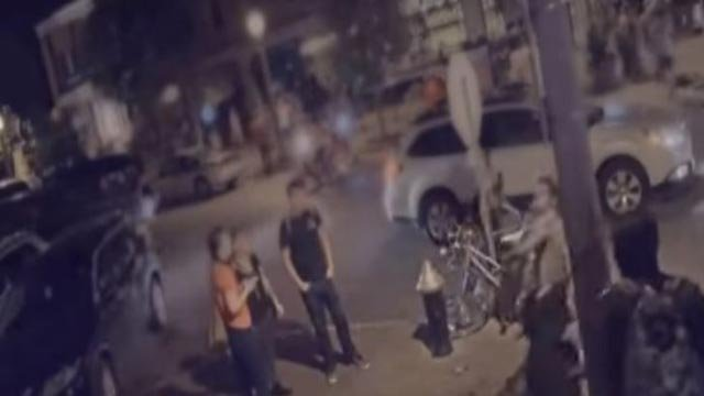 Still from surveillance video police released of Culpeppers Restaurant (Credit: KMOV)
