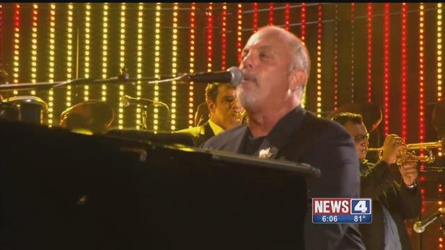 A Billy Joel concert planned for Thursday at Busch Stadium is currently set to go on as scheduled. Credit: KMOV
