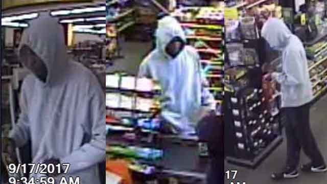 Police say this man robbed a Dollar General in Jennings Sunday. Credit: St. Louis County PD.