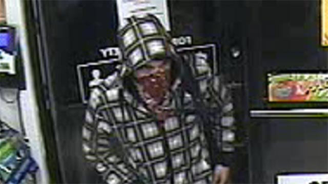 Surveillance photo of Circle K robbery suspect (Credit: Jefferson County Sheriff's Office)