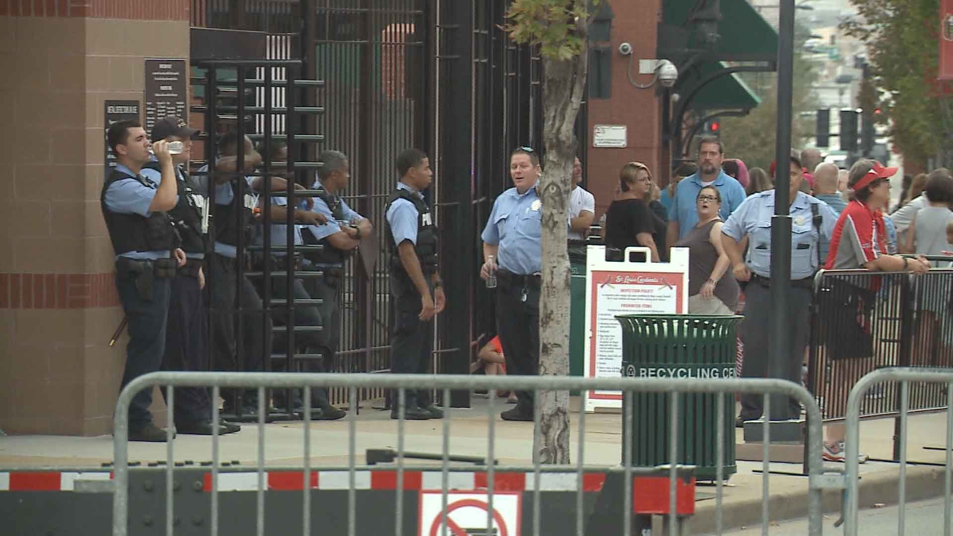 Those who attended the Billy Joel concert at Busch Stadium noticed an increased security presence. Credit: KMOV