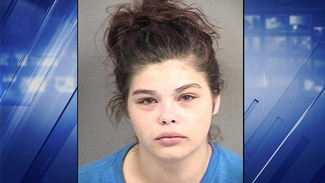 Kaylee Bradshaw, 20, of Rolla arrested for endangering welfare of a child. (Phelps County Sheriff's Department)