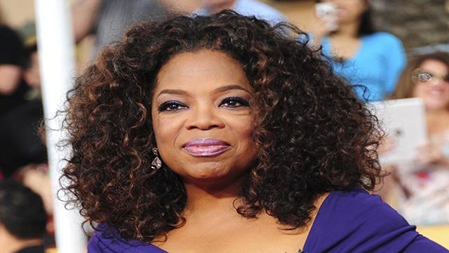 "Actress Oprah Winfrey, from ""Lee Daniels' The Butler"", poses on the red carpet at the Screen Actors Guild (SAG) Awards in Los Angeles, California on Saturday, January 18, 2014. (Credit: CNN)"