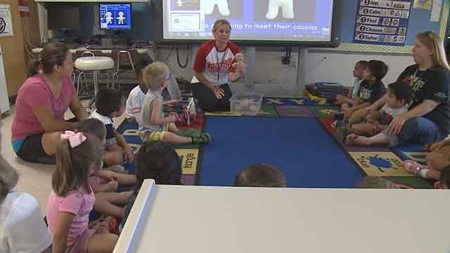 The Collinsville School district is being recognized for doing more with less. Credit: KMOV