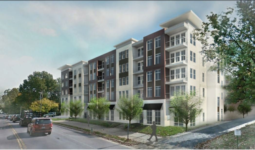 The proposed loft style apartment complex would have 51 units. (Credit: Sangita Capital Partners)