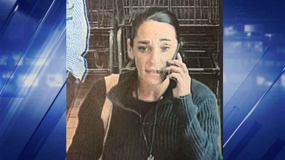 Chesterfield Police are asking for the public's help locating a woman accused of stealing 17 containers of baby formula from a local grocery store. (Credit: Chesterfield Police Department)