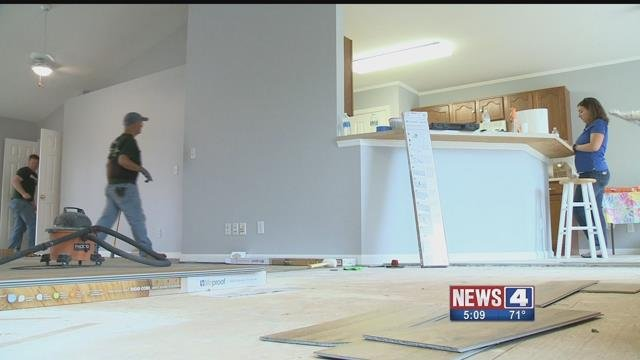 Home Depot and Paraqaud are renovating the homes of veterans and their families. Credit: KMOV
