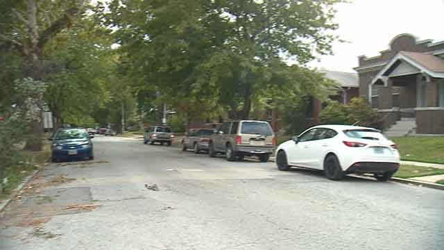 Residents in St. Louis' Dutchdown neighborhood say a group of teens have been on a mini crime spree. (Credit: KMOV)