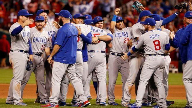 Cubs clinch division, celebrate by dropping multiple f-bombs on CSN Chicago
