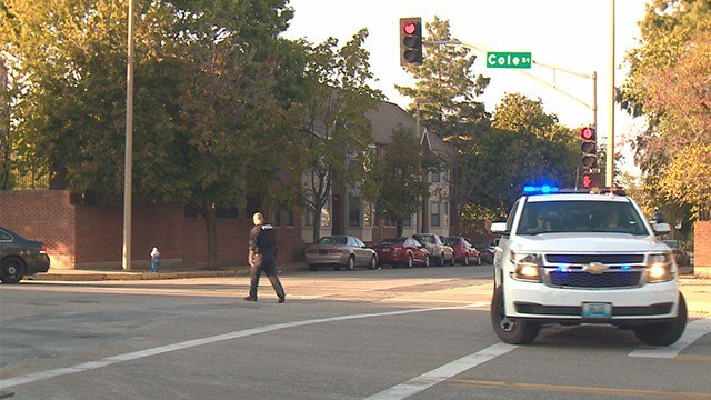olice are investigating a double shooting that occurred at 9th Street and Cole Street Sunday evening. (Credit: KMOV)