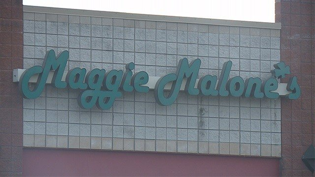 Wentzville Police saidtwo people were injured after a bar fight at Maggie Malone's Saturday night. (Credit: KMOV)
