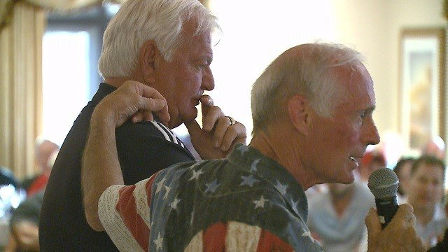 Veterans were honored today at a golf tournament in St. Albans. (Credit: KMOV)