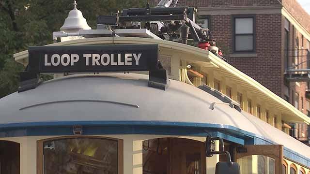 Loop Trolley. Credit: KMOV