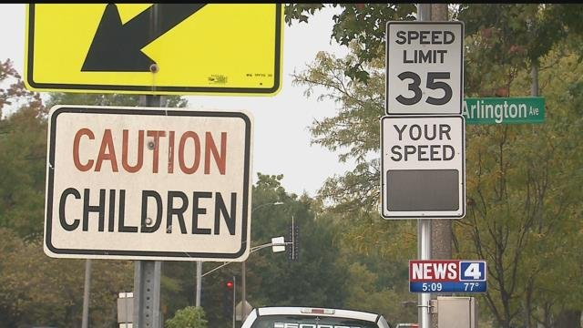 Residents say speeding is a problem on a stretch of Page Boulevard in North City. Credit: KMOV