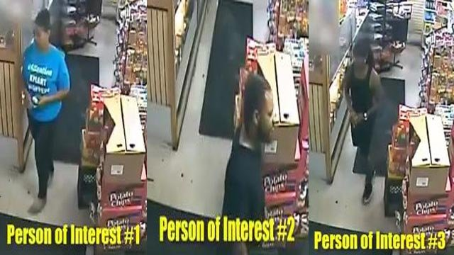 Three persons of interest in the shooting death of Ladareace Pool (Credit: Police)