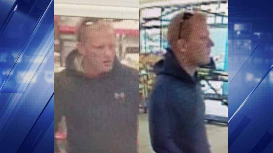Police say this man is a person of interest in a theft that occurred in O'Fallon, Mo. Credit: O'Fallon, MO. PD