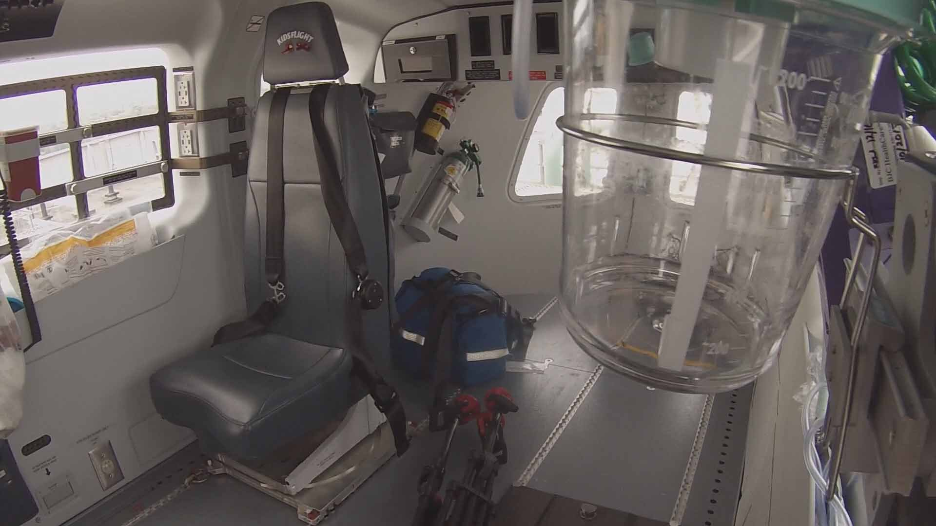 Inside Kids Flight 2. Credit: KMOV