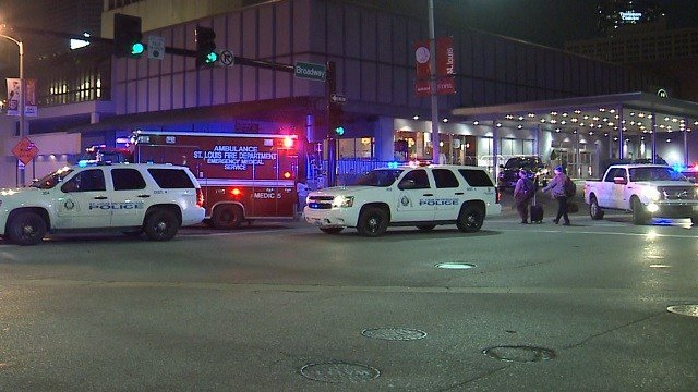 A man jumped to his death from Three Sixty atop the Hilton hotel in downtown St. Louis (KMOV)