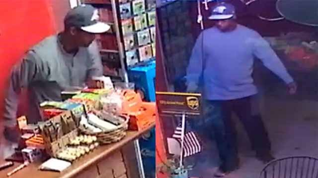 Police say this man burglarized Shapiro's Deli in the Central West in July. Credit: SLMPD