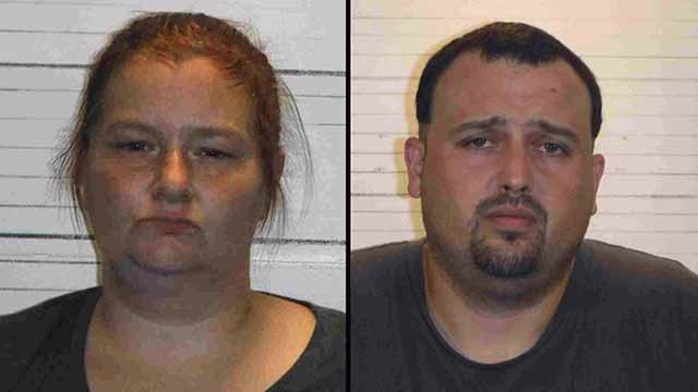 Cara Anderson and Shawn Holland are charged in connection to a drug bust in Caseyville. Credit: St. Clair Co, Sheriff
