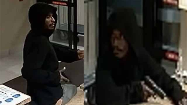 Police say this man robbed the Avyan Hotel in the 2600 block of Lafayette Avenue on October 13. Credit: SLMPD