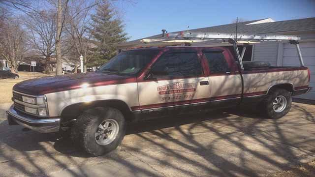 The truck that was stolen. Credit: KMOV