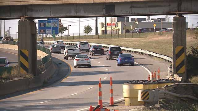 A community effort to drive changes to this dangerous stretch of Interstate 70 is underway in Wentzville. Credit: KMOV