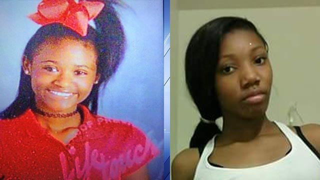 Kareema Martin, 14, and Kormorah Gilbert, 11, were reported missing from St. Louis County Wednesday night (Credit: Police)