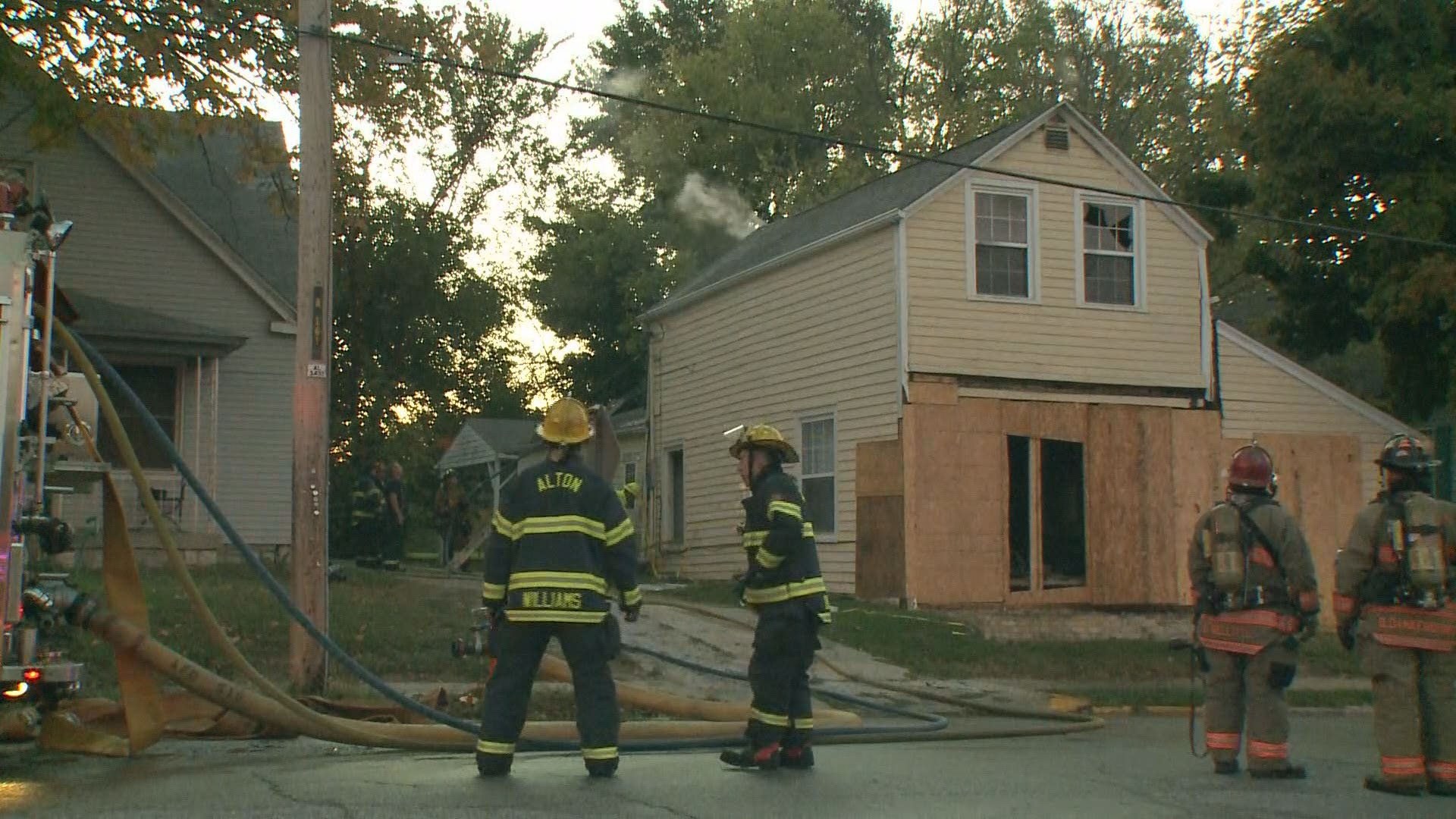Suspicious Fire in Alton Home after previously being hit
