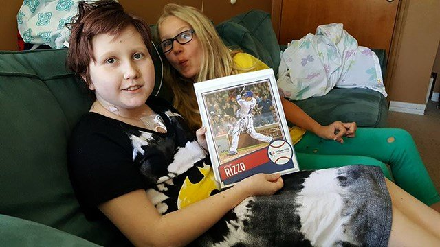 It's Rizzo To The Rescue For Young Cancer Patient