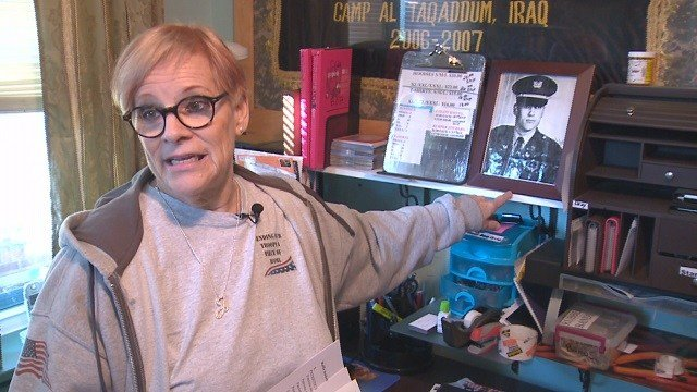 A St. Louis woman is continuing her mission to give military members a special holiday. (Credit: KMOV)