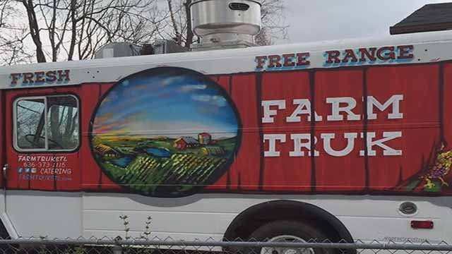 FarmTruk and Locoz Tacoz were targeted by thieves in South City over the weekend. Credit: KMOV