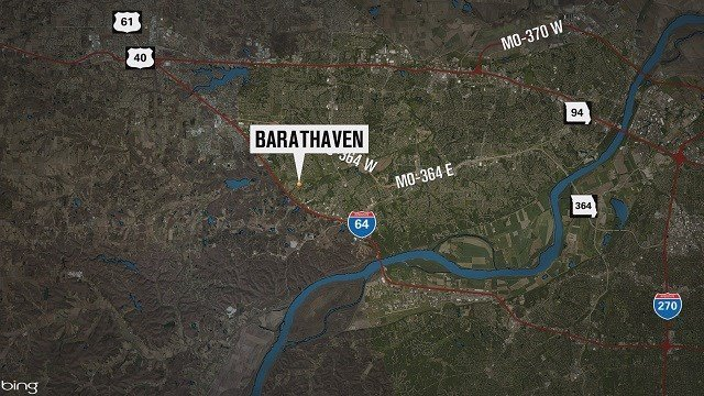 Map of Barathaven in St. Charles County (Credit: KMOV)