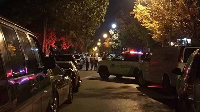 An 11-year-old child was shot in the Kingsway West neighborhood of St. Louis Wednesday night, police said. Credit: KMOV