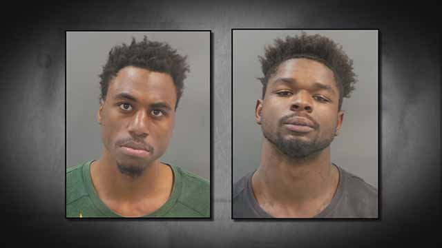 Travion Lindsey, 19, and Jevantae Phillips, 20, are charged with robbery and armed criminal action. Credit: SLMPD