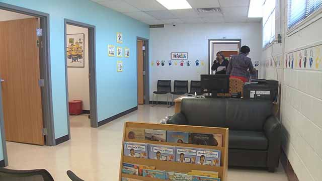The Jennings School District opened a new health clinic at Fairview Elementary. The ribbon-cutting ceremony was held on Thursday. Credit: KMOV